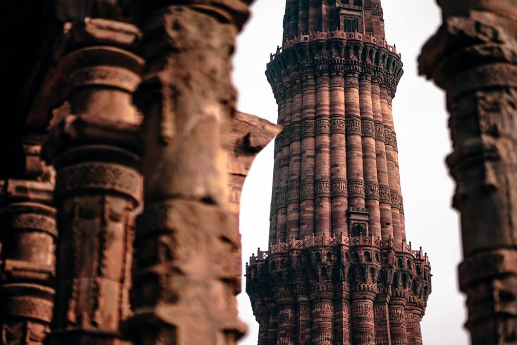 Buddhist Tours to India - Visit to Quatab Minar