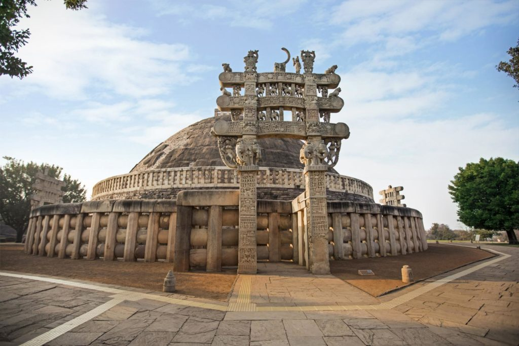 Sanchi Stupa - Buddhist Tours in India by Travel Passion Inc. Best Holiday Planner for Indian Subcontinent.